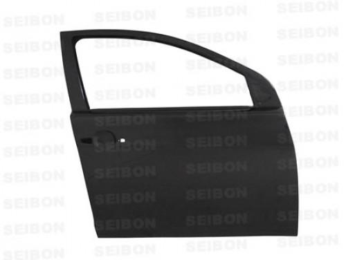 2008~2010年 三菱 ランサーエボリューションX カーボンフロントドア 純正形状 【注:本製品は競技用部品です】