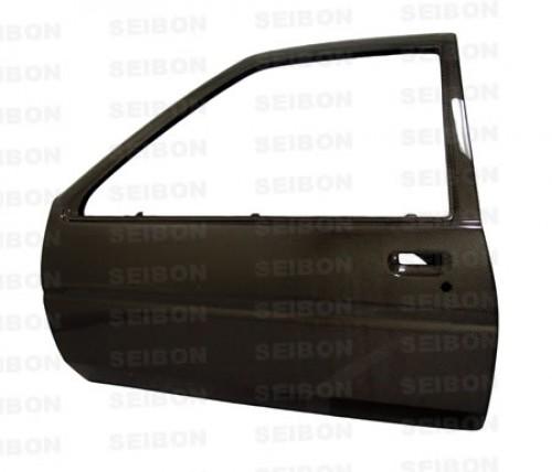 1984~1987年 トヨタ カローラ AE86 カーボンドア 純正形状 【注:本製品は競技用部品です】