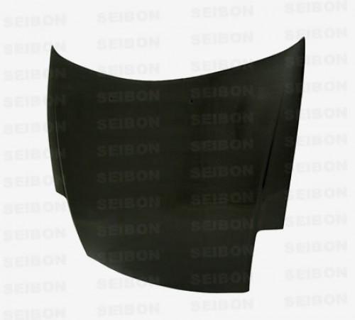 2000~2005年 三菱 エクリプス カーボンボンネット 純正形状