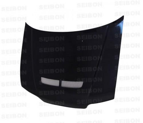 1988年~1991年ホンダ・CR-X SIR ハッチバック 平織りカーボンボンネット 純正形状 (ベント付き)
