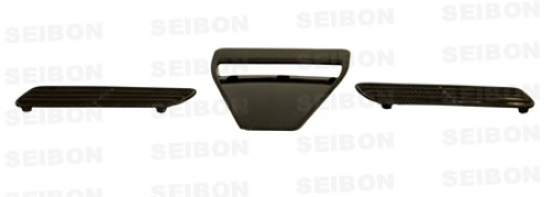2008~2010年 三菱 ランサーエボリューションX カーボンボンネットエアスクープ 純正形状
