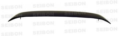 1996~2000年 ホンダ シビック ハッチバック カーボンリアスポイラー 純正形状 (LEDストップランプ付き)