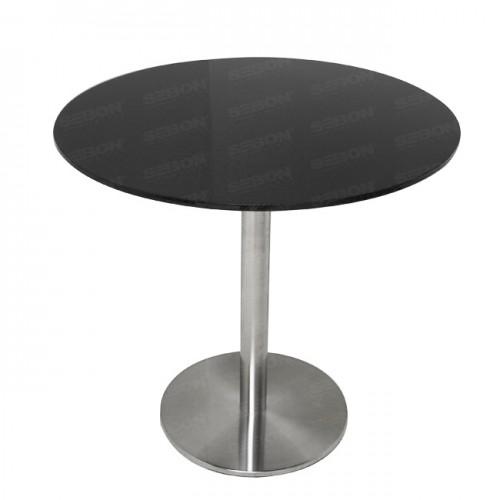 """カーボンテーブル 「丸いタイプ」 (OD:31.5""""、H:30""""⇒ 直径:800mm、高さ:762mm)"""