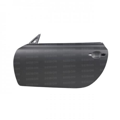 2001~2010年 レクサス SC430 ドライカーボンドア 純正形状 (マットフィニッシュ) 【注:本製品は競技用部品です】