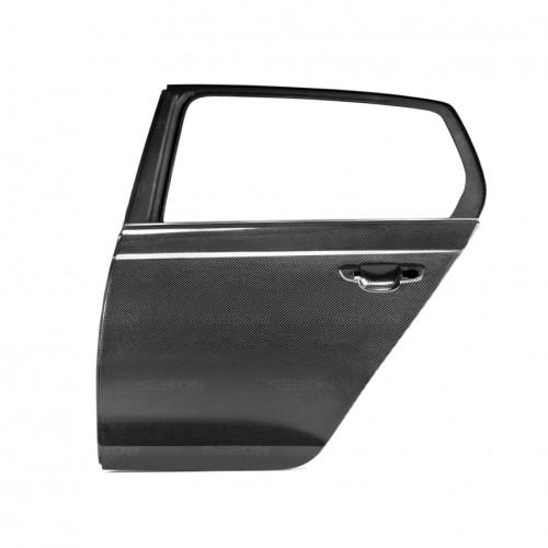 2010年~2014年フォルクスワーゲン・ゴルフ / GTI / R カーボンリアドア 純正形状*