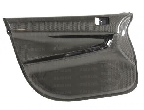 2008~2010年 三菱 ランサーエボリューションX カーボンフロントドアパネル (インナー) 純正形状