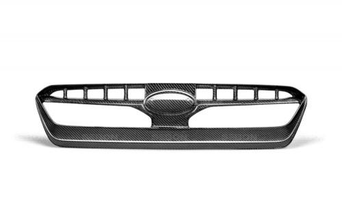 2015年~2017年スバル・WRX / STI カーボンフロントグリル 純正形状