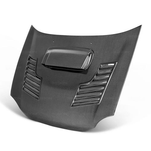 2002年~2003年スバル・インプレッサ / WRX カーボンボンネット CWII-スタイル