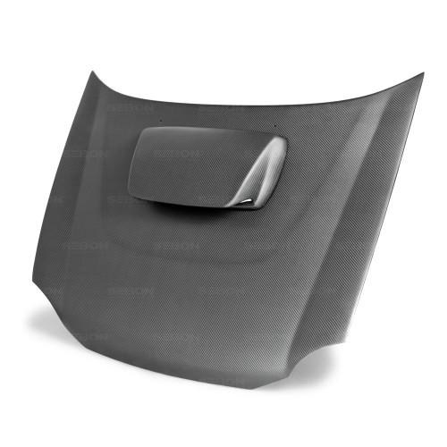 2002年~2003年スバル・インプレッサ / WRX ドライカーボンボンネット 純正形状
