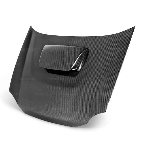 2002年~2003年スバル・インプレッサ / WRX カーボンボンネット 純正形状