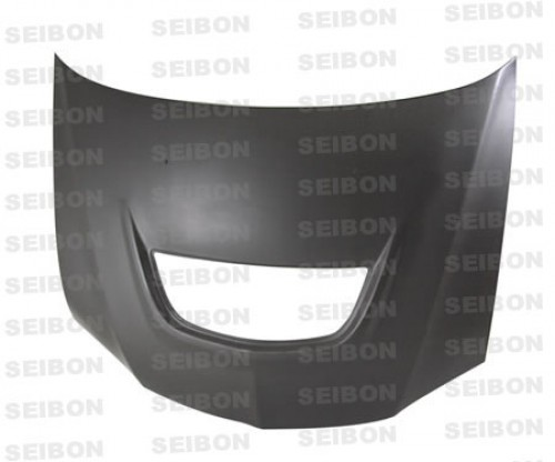 2003~2007年 三菱 ランサーエボリューション ドライカーボンボンネット 純正形状 (マットフィニッシュ)