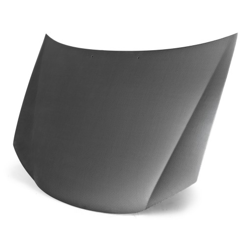 2005年~2009年キア・スペクトラ カーボンボンネット 純正形状 - マット