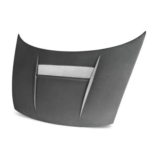 2006~2010年 ホンダ シビック クーペ カーボンボンネット VSII-スタイル (マットフィニッシュ)