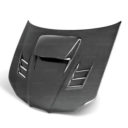 2006年~2007年スバル・インプレッサ / WRX / STI カーボンボンネット CWII-スタイル