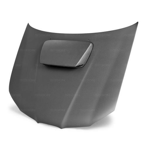2006年~2007年スバル・インプレッサ / WRX / STI ドライカーボンボンネット 純正形状