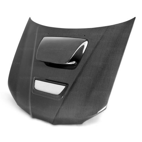 2006年~2007年スバル・インプレッサ / WRX / STI 平織りカーボンボンネット RC-スタイル