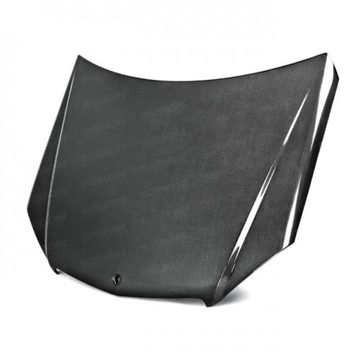 2008年~2011年メルセデス・ベンツ・Cクラス カーボンボンネット 純正形状