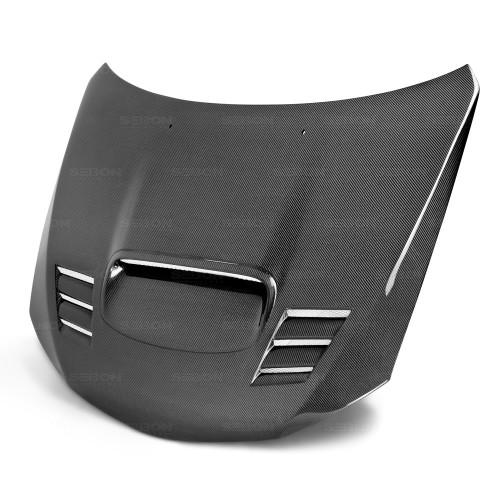 2008年~2014年スバル・WRX / STI カーボンボンネット CWII-スタイル