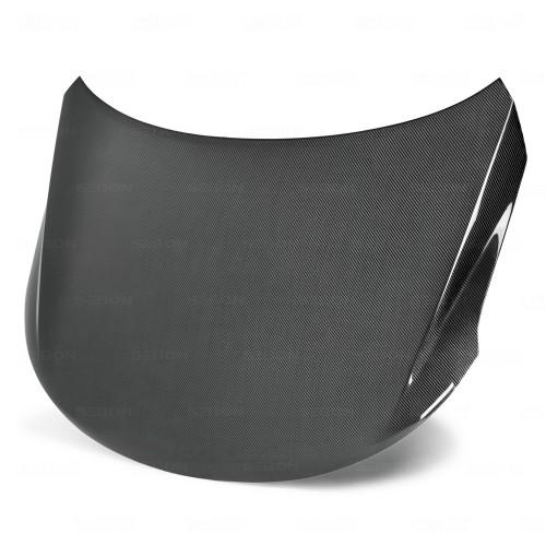 2009~2010年 キア フォルテー カーボンボンネット 純正形状