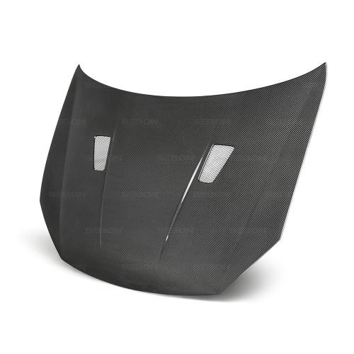 2010年~2014年フォルクスワーゲン・ゴルフ / GTI / R カーボンボンネット TM-スタイル (スムーズタイプ)