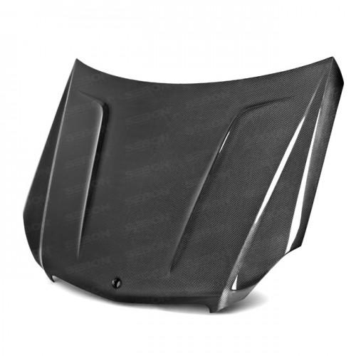 2012~2013年 メルセデスベンツ Cクラス カーボンボンネット TA-スタイル 「C63モデル不可」