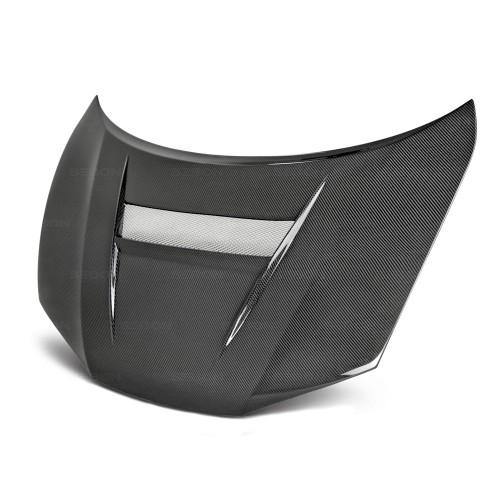 2014年~2015年ホンダ・シビック クーペ カーボンボンネット VSII-スタイル