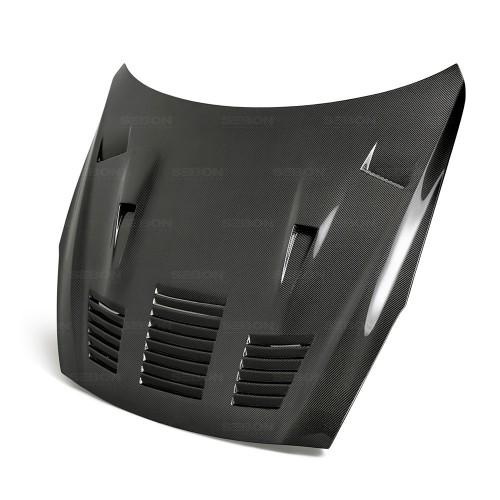 2017年~2019年日産・GT-R カーボンボンネット GTII-スタイル