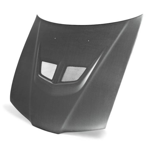 1992~1996年 ホンダ プレリュード カーボンボンネット EVO-スタイル (マットフィニッシュ)
