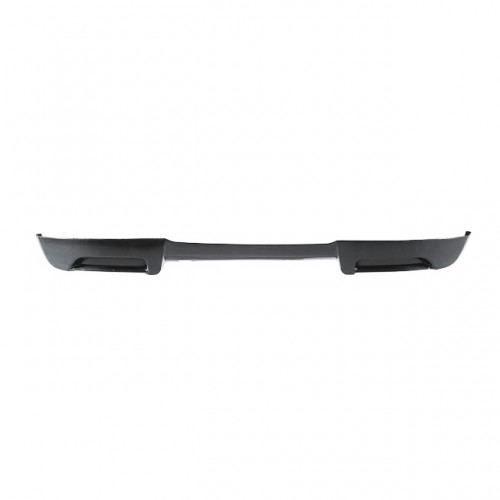 SS-style carbon fiber rear lip for 2007-2008 Toyota Yaris Liftback (straight weave)