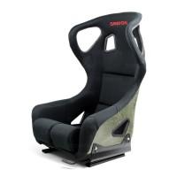 カーボンケブラー フルバケットレーシングシート タイプーFC ブラック/レッドロゴ