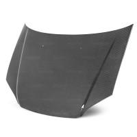 2001年~2003年ホンダ・シビック 平織りカーボンボンネット 純正形状 (スムーズタイプ)